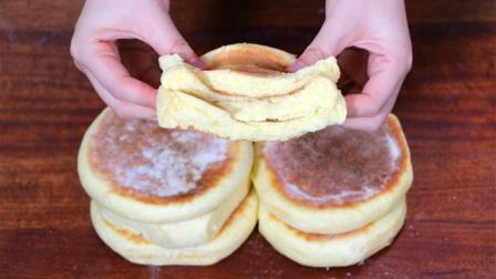 面粉最好吃的做法, 无水无油, 柔软蓬松, 比馒头简单, 比面包好吃
