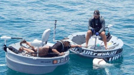 老外发明钓鱼神器, 据说有人用它钓到了300斤的鲨鱼?