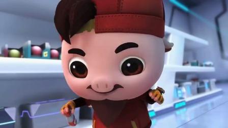 猪猪侠之超星萌宠:小伙说猪猪侠他们刚刚体验的都是幼儿园级别的