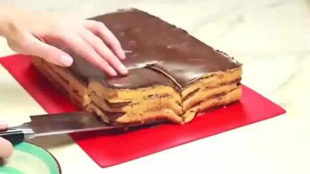 不用烤箱就能做, 美味焦糖奶油蛋糕! 简单易学