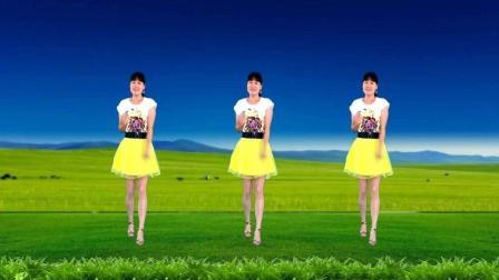 经典老歌广场舞《原香草》大气飞扬, 乌兰图雅演唱, 32步附口令教学