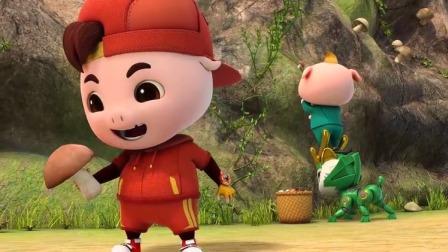 猪猪侠之超星萌宠:猪猪侠乱吃药,结果被苦晕了!