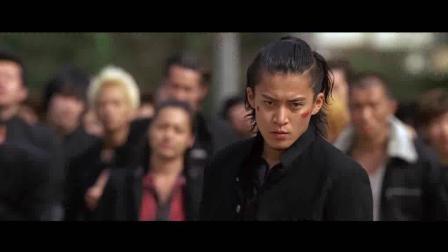 热血高校2-泷谷源治独自挑战凤仙, 随后芹泽军团和GPS赶到, 铃兰凤仙正式开战