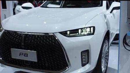 国产豪华SUVWEY P8内饰与长城vv7一致, 百公里综合油耗2.3升才16万, 与宝马X1奔驰GLA媲美