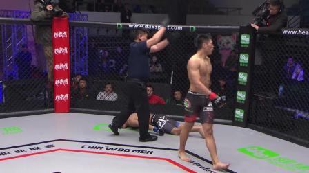 MMA赛事花式KO集锦,除了拳腿没想到这些部位也能KO对手?