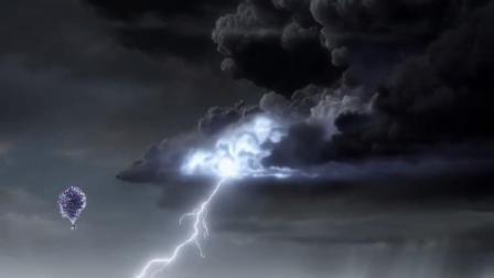 飞屋环游记:飞行的过程中,却遇到了积雨云,这下真是麻烦了