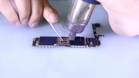 补充基础手工之: 屏蔽罩拆装--手机维修培训-手机维修视频教程-手机主板维修培训