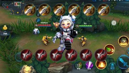 王者荣耀: 肉鲁班单挑破甲鲁班, 最锋利的矛VS最坚固的盾!