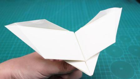 纸飞机大师的神作品! 飞行时像蝙蝠一样扇动翅膀
