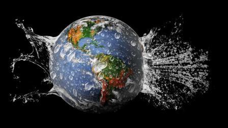 俗话说, 水往低处流, 为什么地球是圆的, 却没有把陆地淹没?