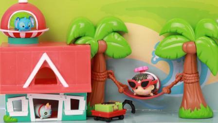 趣盒子玩具 第一季 星际宝贝电影版TSUMTSUM可爱叠叠乐