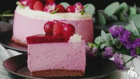 火龙果红莓慕斯蛋糕, 做法太简单了, 赶快分享一下哦