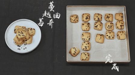 教你如何制作蔓越莓曲奇! 用烤箱做曲奇饼干