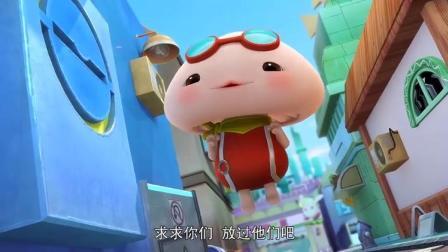 猪猪侠之超星萌宠:猪猪侠:现在最重要的是继续实验,做出新孢子