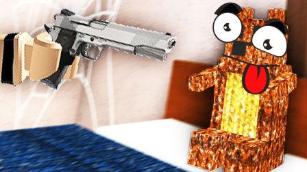 【屌德斯&小熙】 Roblox躲猫猫模拟器 全新地图 在露营地变身玩具熊蒙混过关!