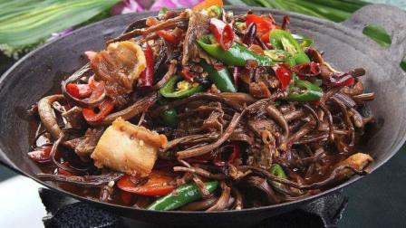 干锅茶树菇家常做法, 老刘手把手教你, 又香又辣, 看着都流口水!