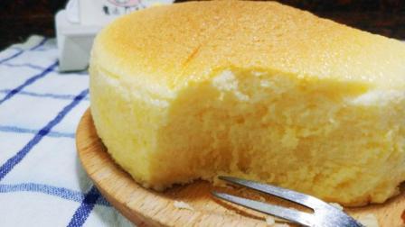 完美的轻乳酪芝士蛋糕, 不开裂、不回缩, 关键就在这一步!