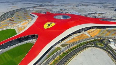 迪拜用了3年, 耗400亿建成第一座法拉利公园, 中国也要建!