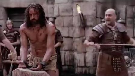 耶稣被毫无人性的士兵鞭打, 看着我都心痛, 谁受得了这鞭打?