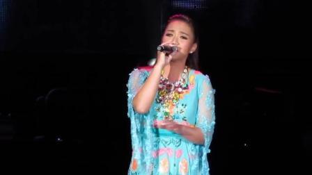 她为爱退出歌坛, 十多年后登台演唱《雨季不再来》真是好听极了