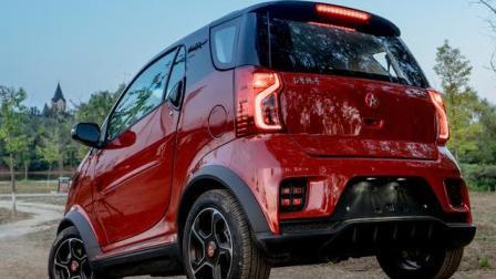 """红星出汽车! 4万多国产""""smart""""无框车门, 全液晶仪表, 车标漂亮"""