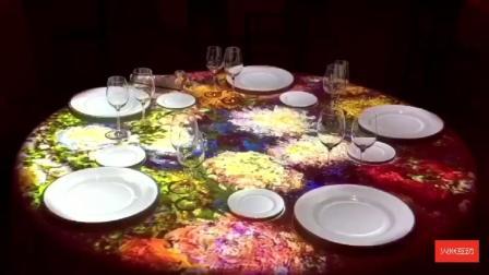 餐桌投影互动案例-火米互动