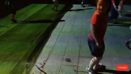 儿童互动娱乐-地面互动投影-火米互动