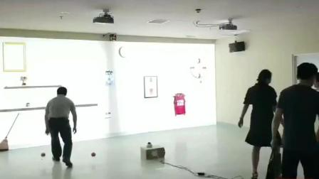 墙面互动游戏案例-火米互动