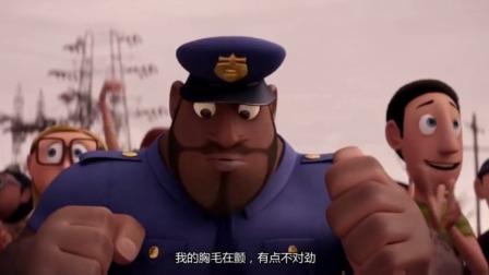 天降美食:剪彩活动上,警官突然感觉不对劲,有不好的事即将发生