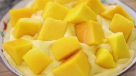 分分钟搞定的一款夏季饮品, 低热量的椰香芒果冰你值得拥有