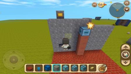 迷你世界: 怎么做电梯, 教你做一个简易的电梯, 如此轻松