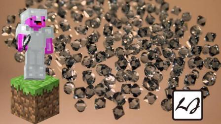 我的世界MC: 如果我的世界只有钻石会发生什么