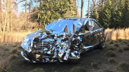 """起拍价1000万的奔驰S级, 只能看不能开, 还会""""隐身""""!"""