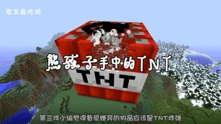 我的世界: MC中的熊孩子你嫌弃吗? 玩家: 我更嫌弃它手中的TNT