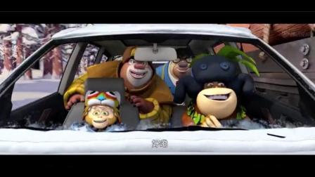 熊出没: 猴子用一堆香蕉, 换了辆68万的新款越野车