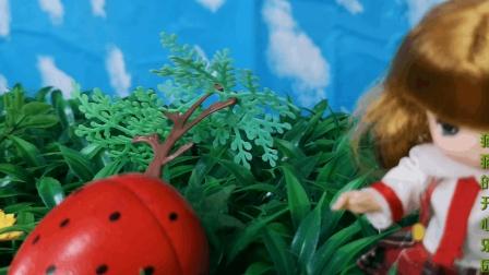 草地里的米露芭比娃娃, 水果切切乐