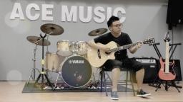 玩易吉他指弹《哆啦A梦》 朱杰