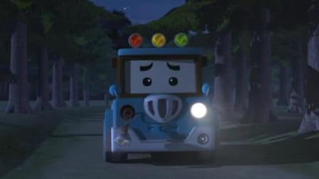 变形警车: 孩子们终于发现不对劲了斯普奇来了救援小队赶紧前来阻止终于让车停下来