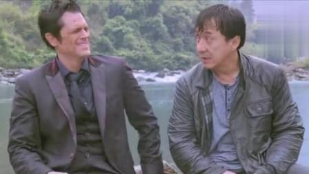 绝地逃生: 成龙跟康纳, 曾为拍戏不慎跌入旋涡