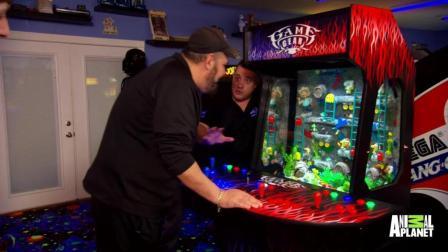 7天造景 游戏机鱼缸
