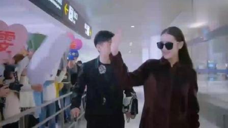 迪丽热巴带着好莱坞巨星的光环高调回国, 一下飞机就要去见他?