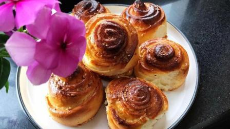 脆底蜂蜜面包的家常做法, 香甜松软