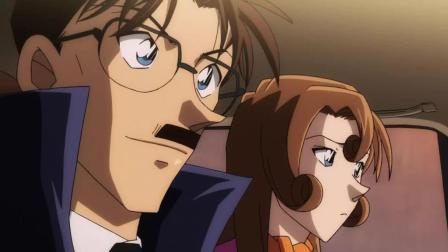 名侦探柯南: 工藤新一和小兰的打情骂俏, 完全被父母看到了