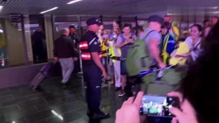 再见了内马尔! 巴西队世界杯出局回家