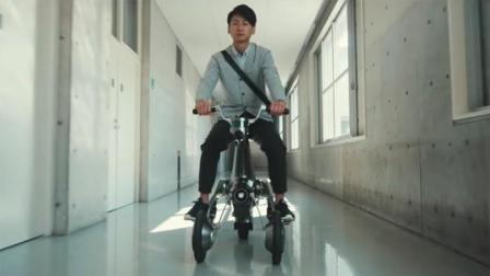 超实用, 日本研发可变身为摩托车的伙伴机器人