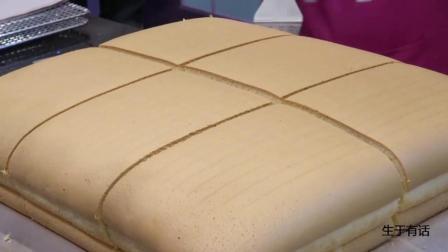 现在公布日销万份的网红蛋糕的制作视频, 价值百万, 看了你也行