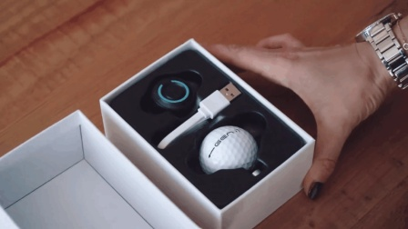 高科技智能高尔夫球, 利用智能设备, 能把房间变球场