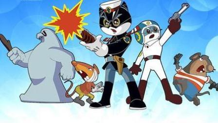 黑猫警长 第五部 黑猫警长射老鼠 黑猫警长救援队 黑猫警长动画片中文版
