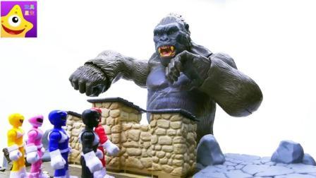 超级英雄保护世界和平儿童故事 恐龙战队神龙机器人大战金刚