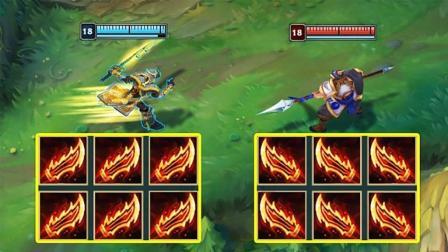 LOL: 六羊刀剑圣vs六鬼索赵信, 谁赢还不一定了